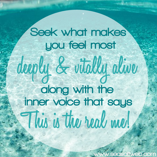 Sea Salt Web seek Motivational Mondays inspirational quotes