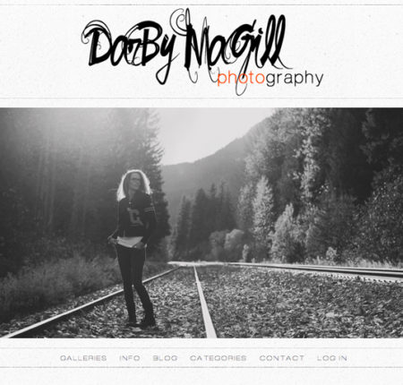 Darby Magill Photography Website