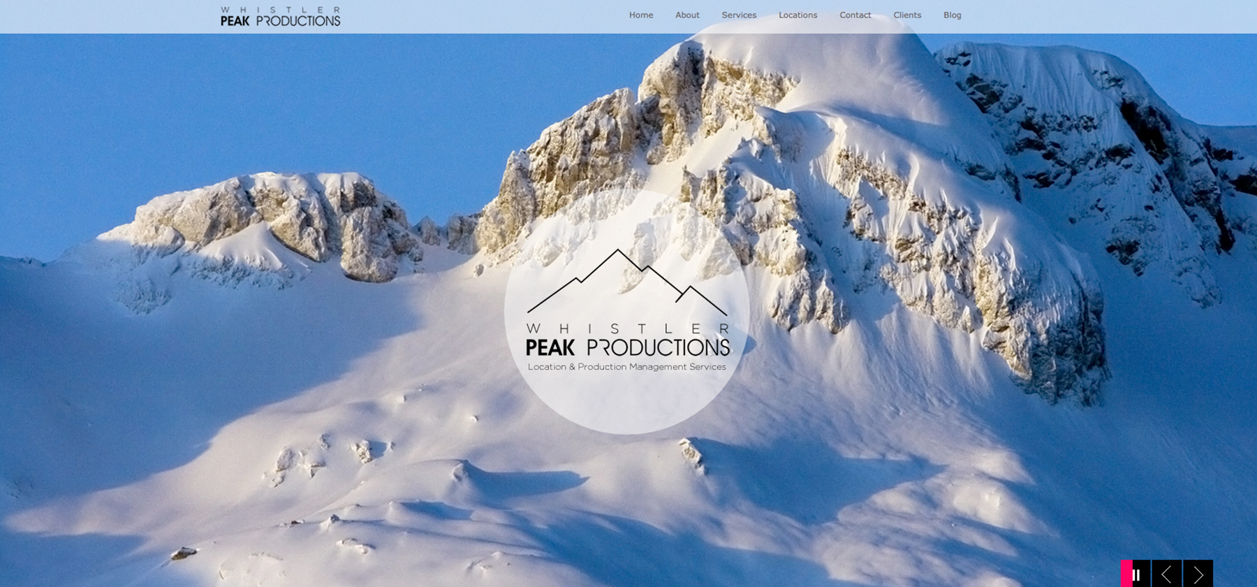 Sea Salt Web Design Whistler Peak Productions