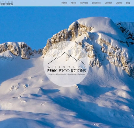 Whistler Peak Productions Website