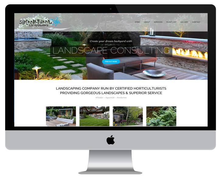 website design by Sea Salt Web Development Whistler