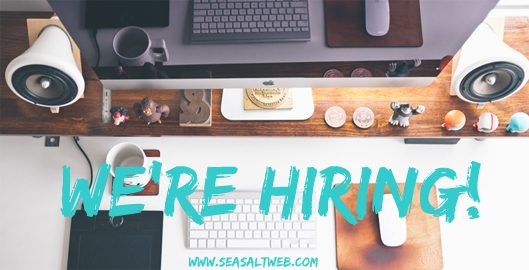 Sea Salt Web Development we're hiring Whistler. Web development wanted