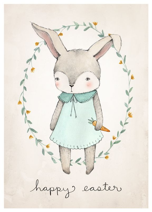 easter bunny cards for free 2