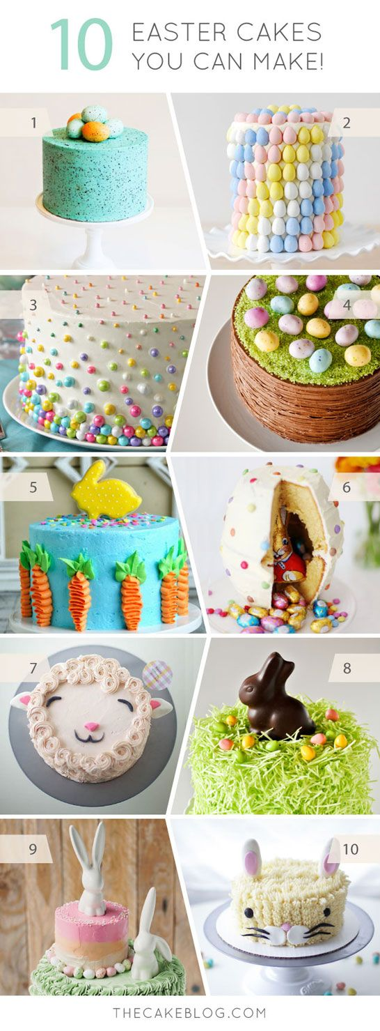 Easy easter cakes to make