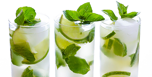 Mojitos recipe summer drinks with Sea Salt Web