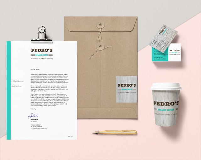 Sea Salt web design Whistler coffee branding identity