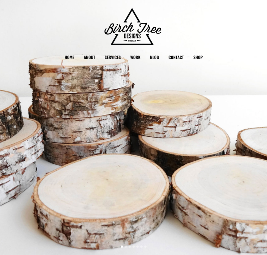 Birch Tree Web Design & Branding Whistler